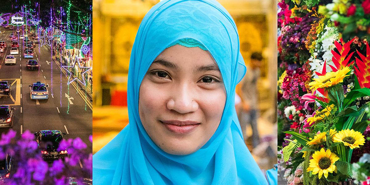 Join Photographer Karen Lucas for a fun Photo Walk in Geylang during the Hari Raya festivities