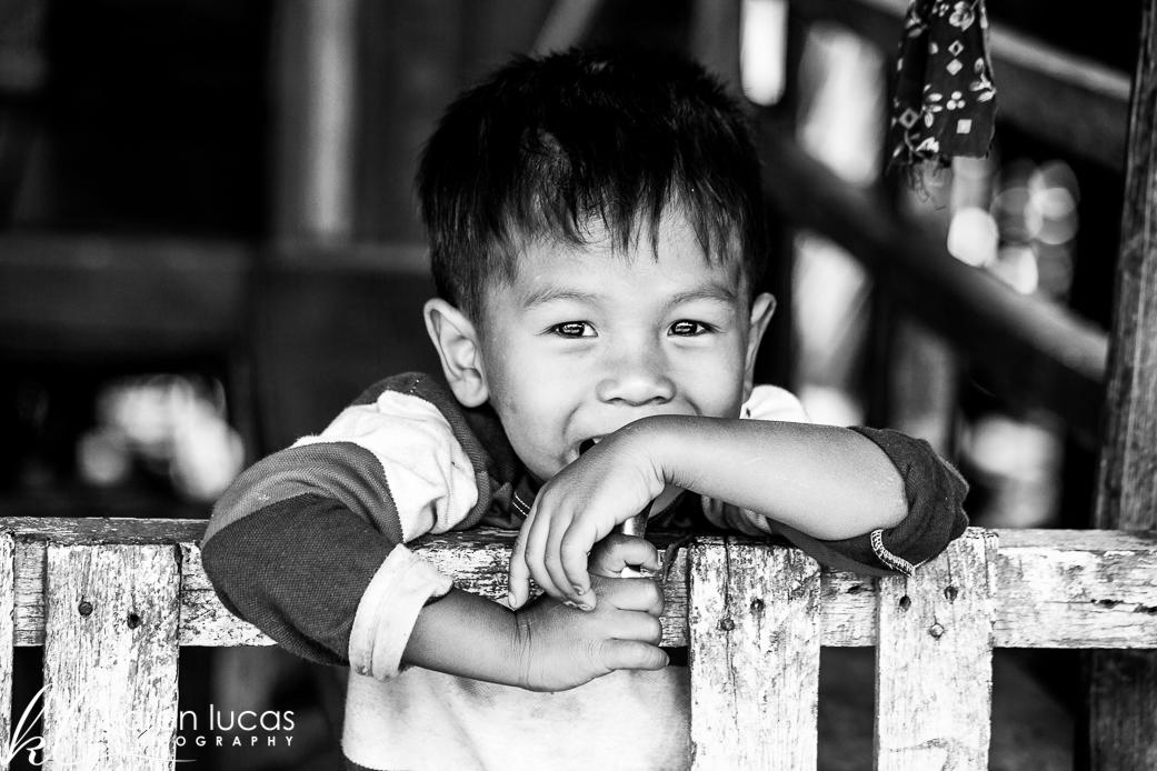 Smiling boy at Kampong Khleang - Photo by Karen Lucas