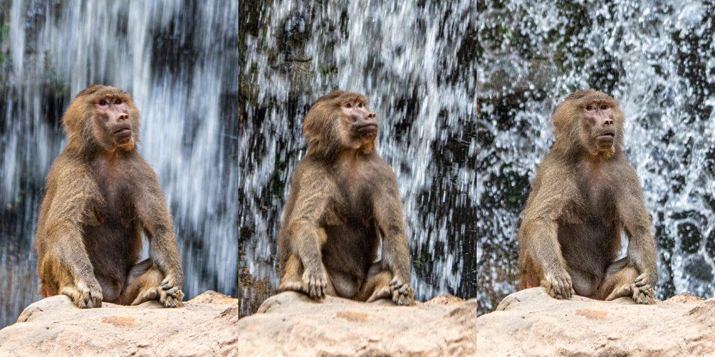 Three ways to photograph a waterfall