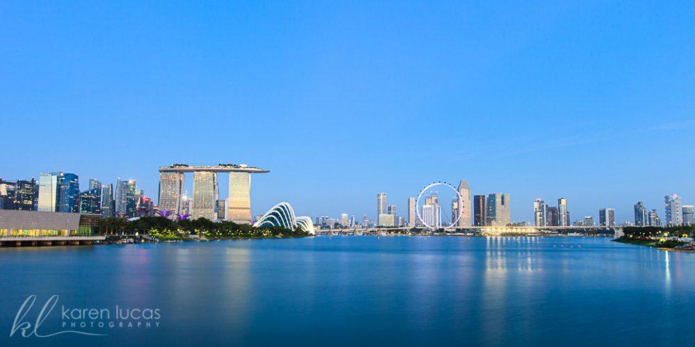 Singapore Photograph by Karen Lucas