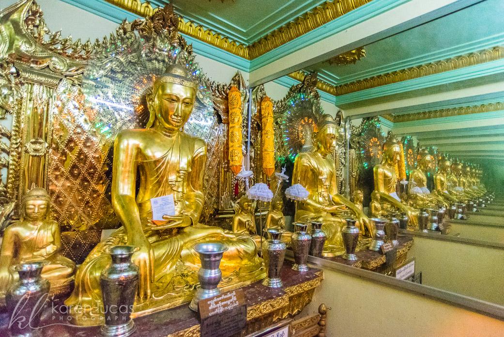Shwedagon Pagoda by Susanne Boehme
