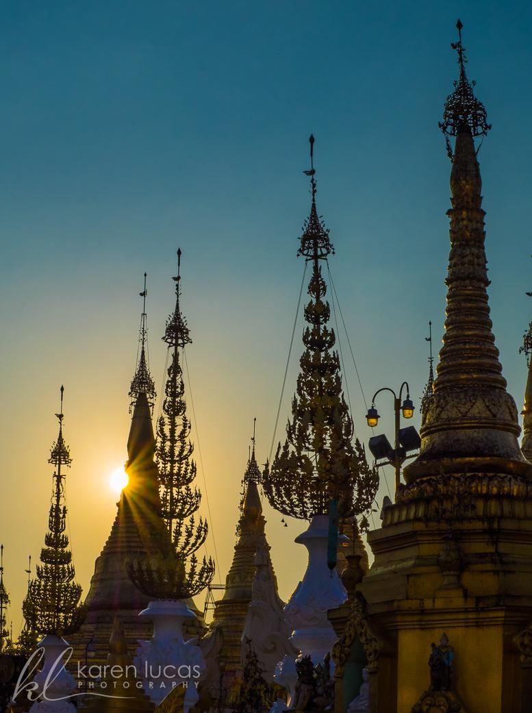 Shwedagon Pagoda by Rebecca Kashyap