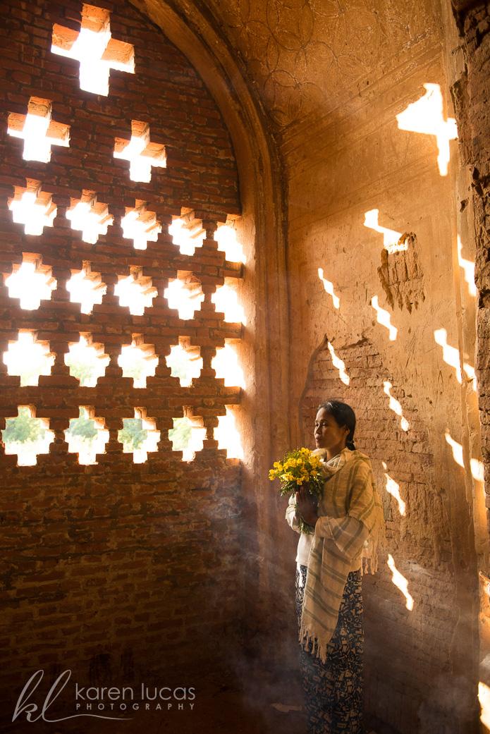 Bagan temple by Ramapriya Rajagopalan