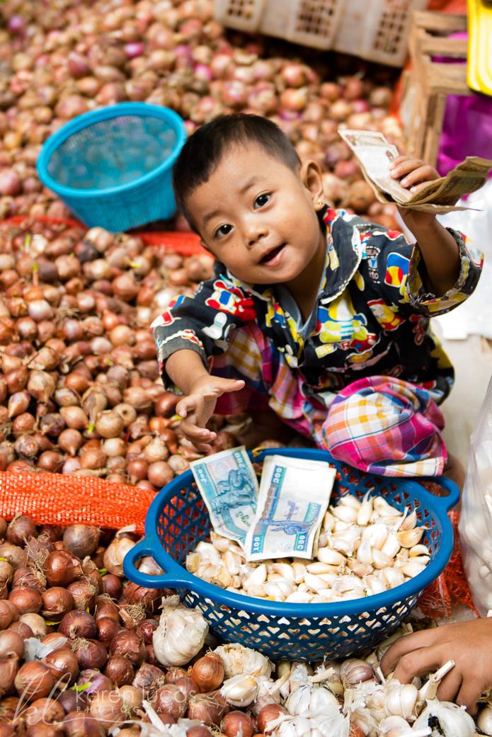 Bagan Market Portrait by Ramapriya Rajagopalan
