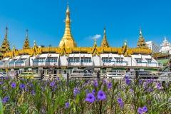 Sule Pagoda by Simona Craparotta