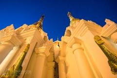 Shwedagon Pagoda by Sue Miles