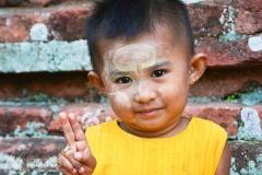 Bagan portrait by Malini Wadhera